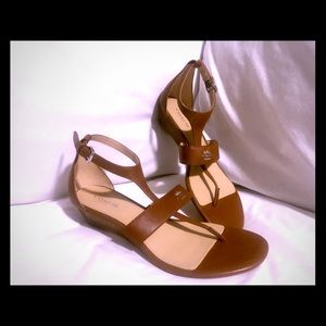Coach Vienna Wedge Sandal (never worn)